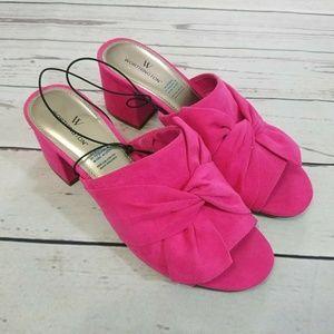 Worthington Freemont Mules Heel Slip-On Size 7.5
